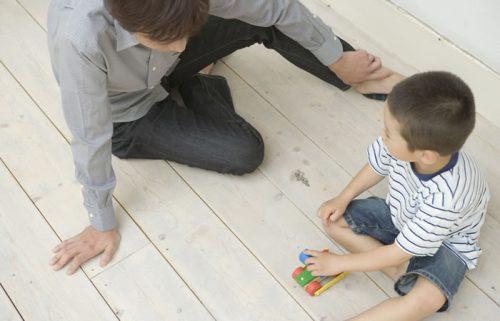 ADHDの子どもと親