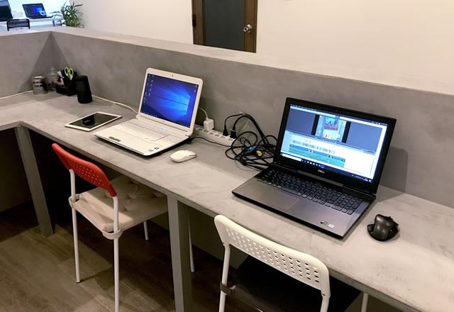 進路支援型 放課後等デイサービスASIS(アズイズ)のパソコン